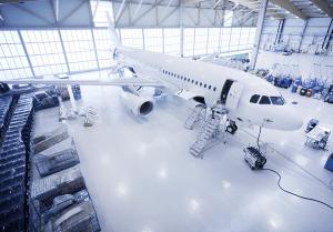 Hangar vloercoating